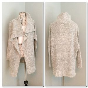 Sweaters - Modern Designer Boucle Snap ButtonCardigan